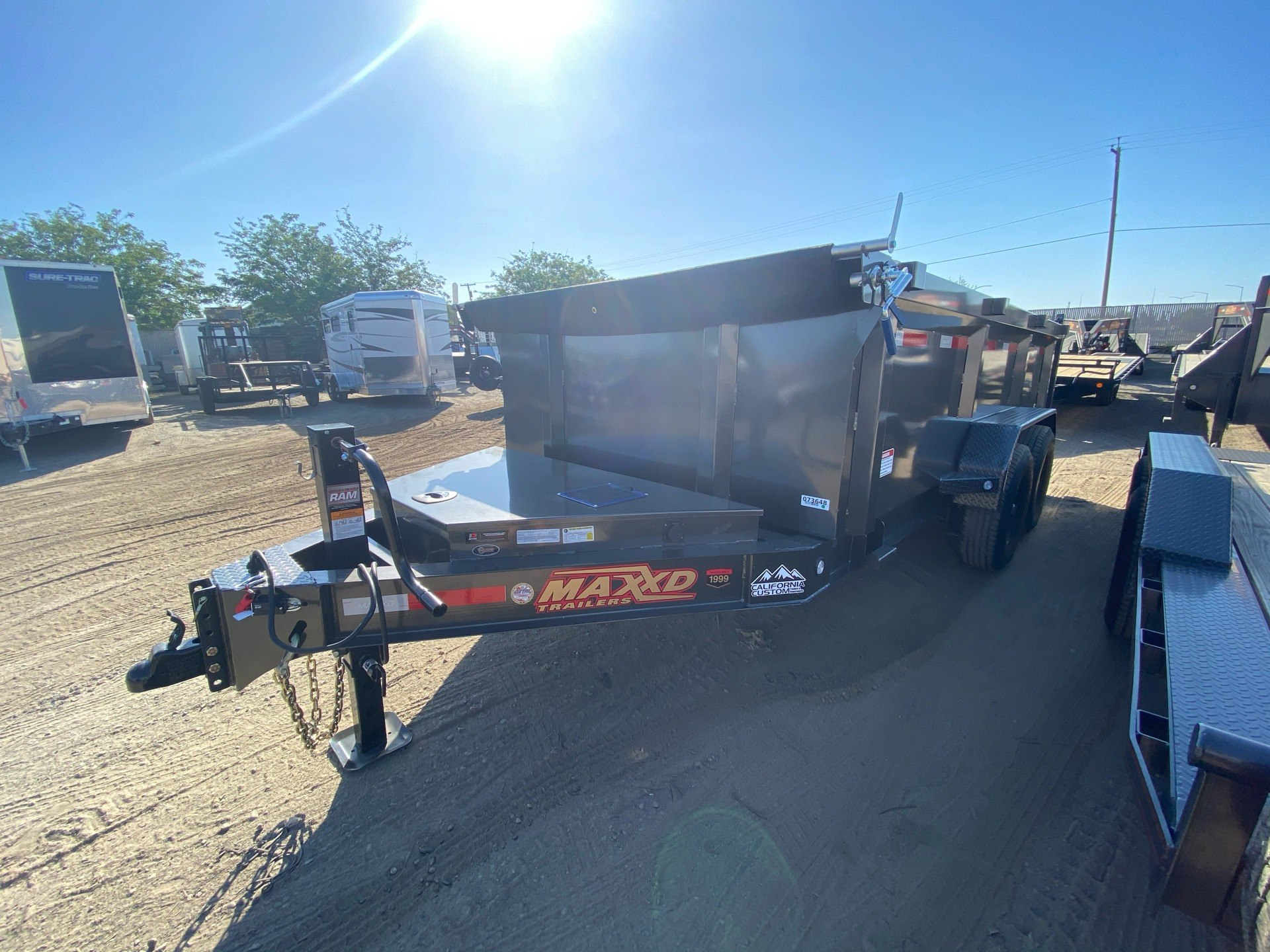 "2020 MAXXD TRAILERS 14' X 83"" I-BEAM DUMP in Elk Grove, California - Photo 1"