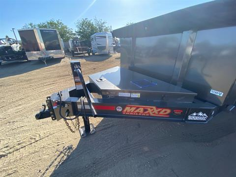 "2020 MAXXD TRAILERS 14' X 83"" I-BEAM DUMP in Elk Grove, California - Photo 2"