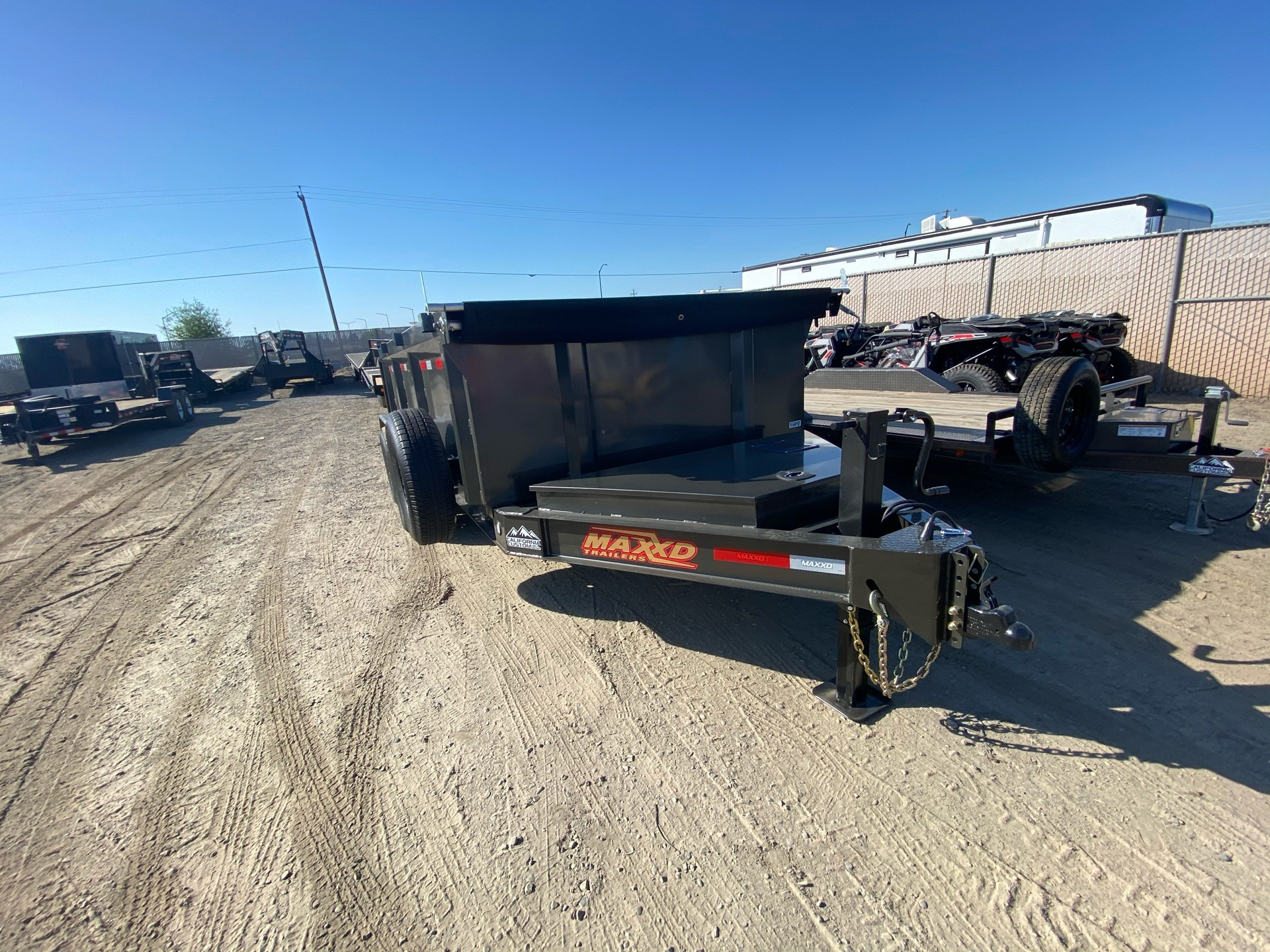 "2020 MAXXD TRAILERS 14' X 83"" I-BEAM DUMP in Elk Grove, California - Photo 4"