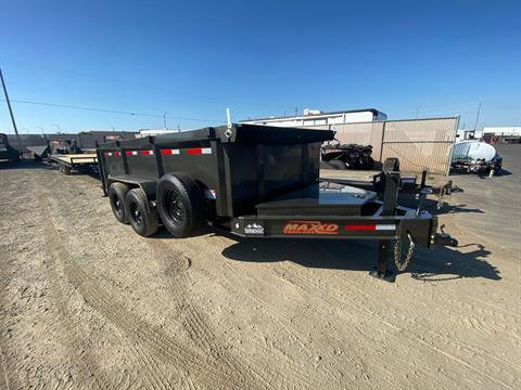 "2020 MAXXD TRAILERS 14' X 83"" I-BEAM DUMP in Elk Grove, California - Photo 5"