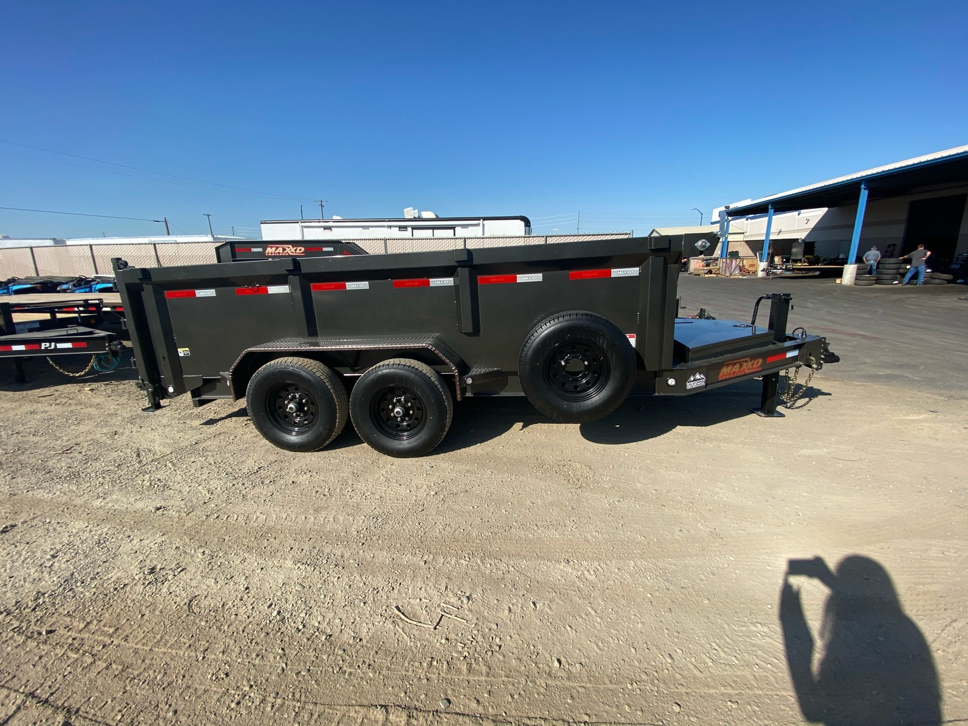 "2020 MAXXD TRAILERS 14' X 83"" I-BEAM DUMP in Elk Grove, California - Photo 6"