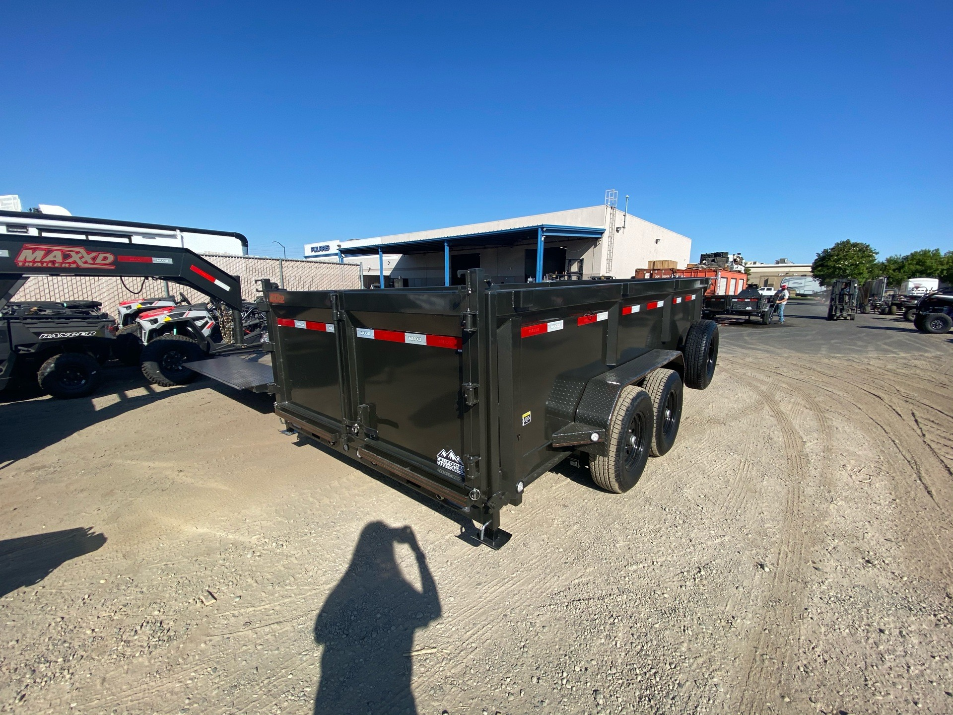 "2020 MAXXD TRAILERS 14' X 83"" I-BEAM DUMP in Elk Grove, California - Photo 8"