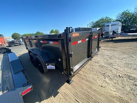 "2020 MAXXD TRAILERS 14' X 83"" I-BEAM DUMP in Elk Grove, California - Photo 13"