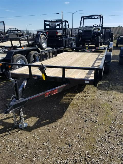 2017 TNT Trailer, LLC 7x14 ATV Trailer in Elk Grove, California