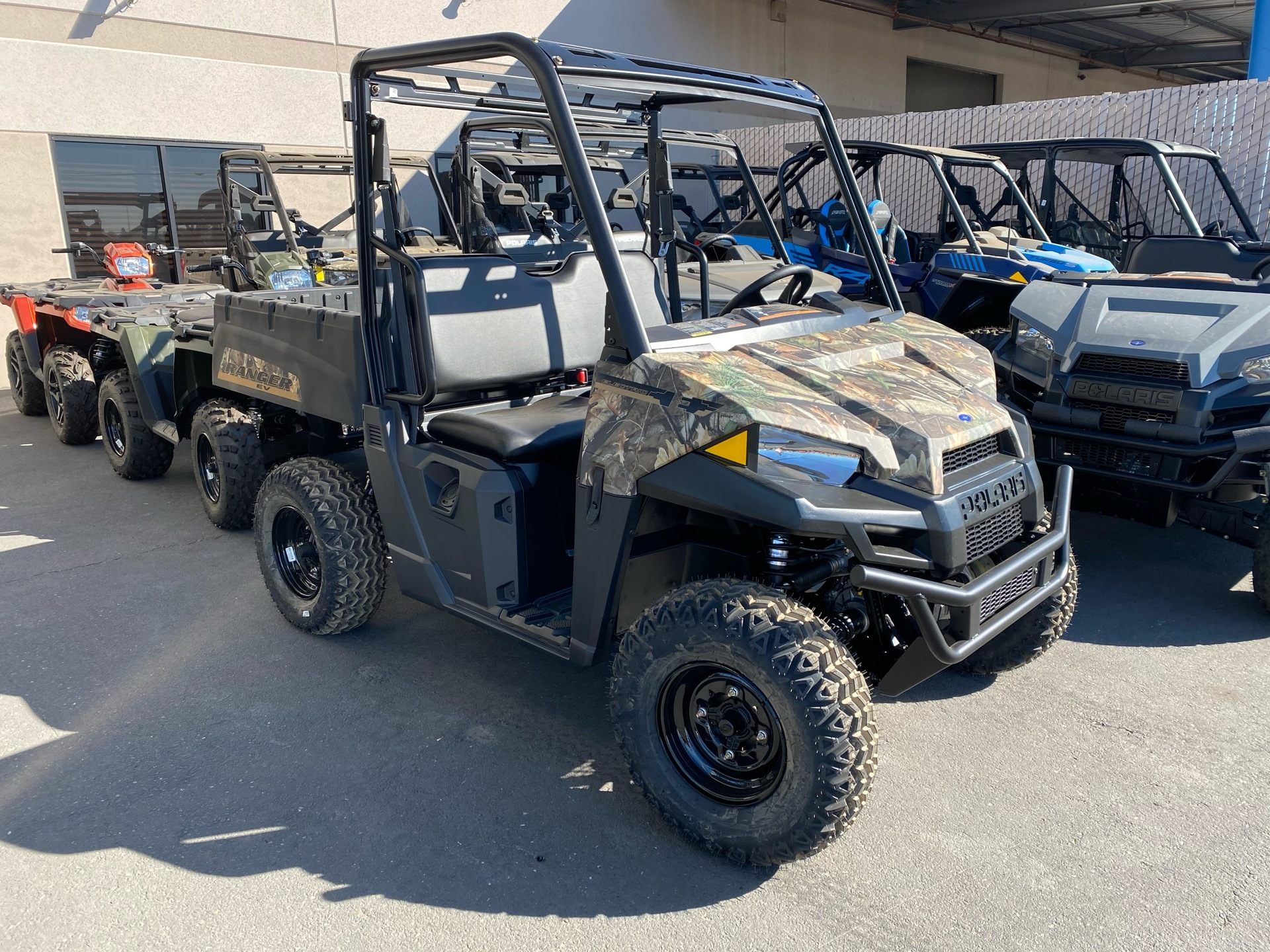 2021 Polaris Ranger EV in Elk Grove, California - Photo 1