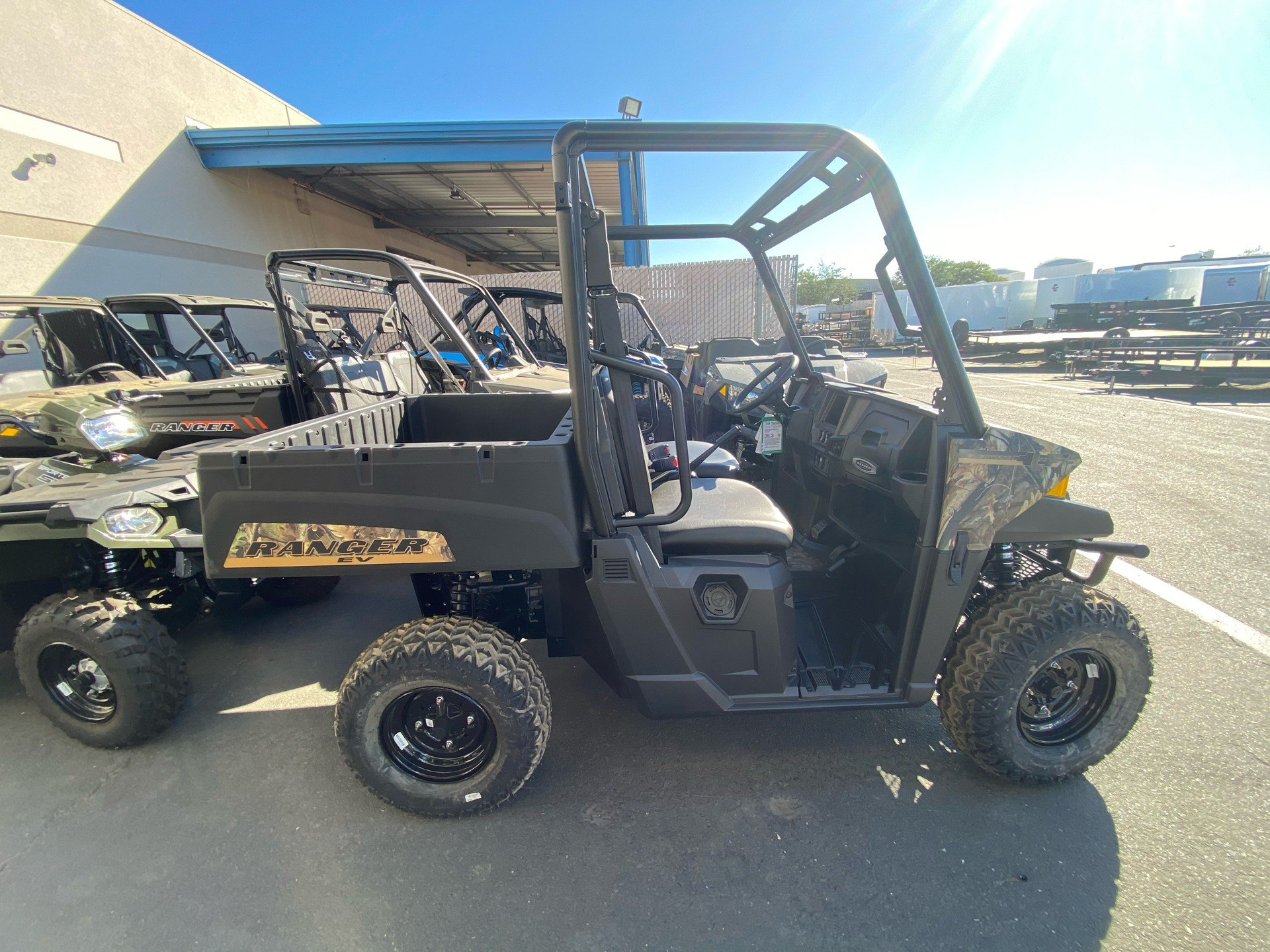 2021 Polaris Ranger EV in Elk Grove, California - Photo 12