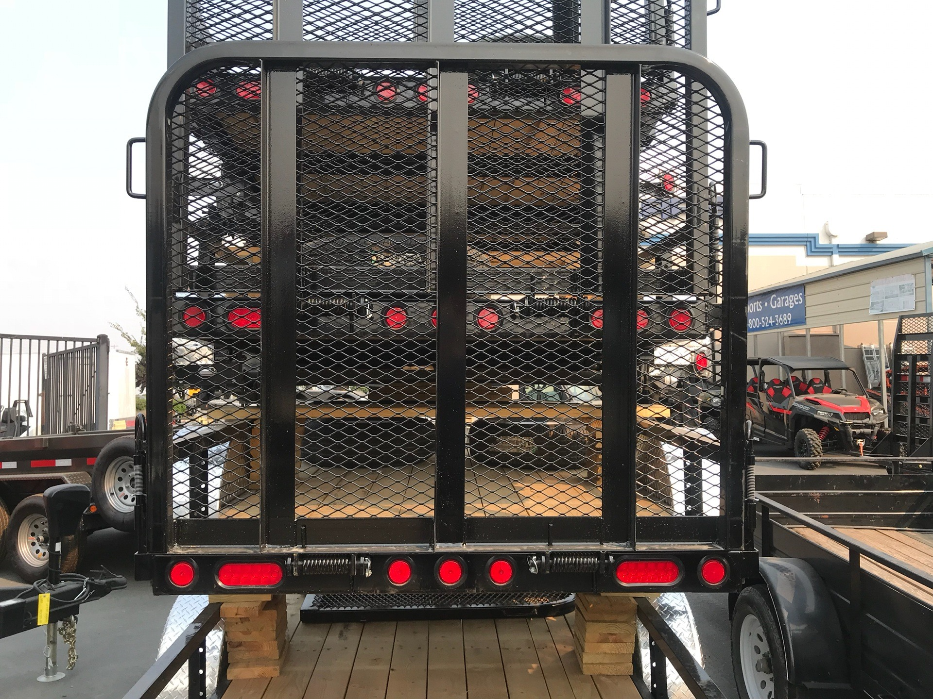 "2019 PJ Trailers 8' X 60"" SA UTILITY TRAILER in Elk Grove, California"