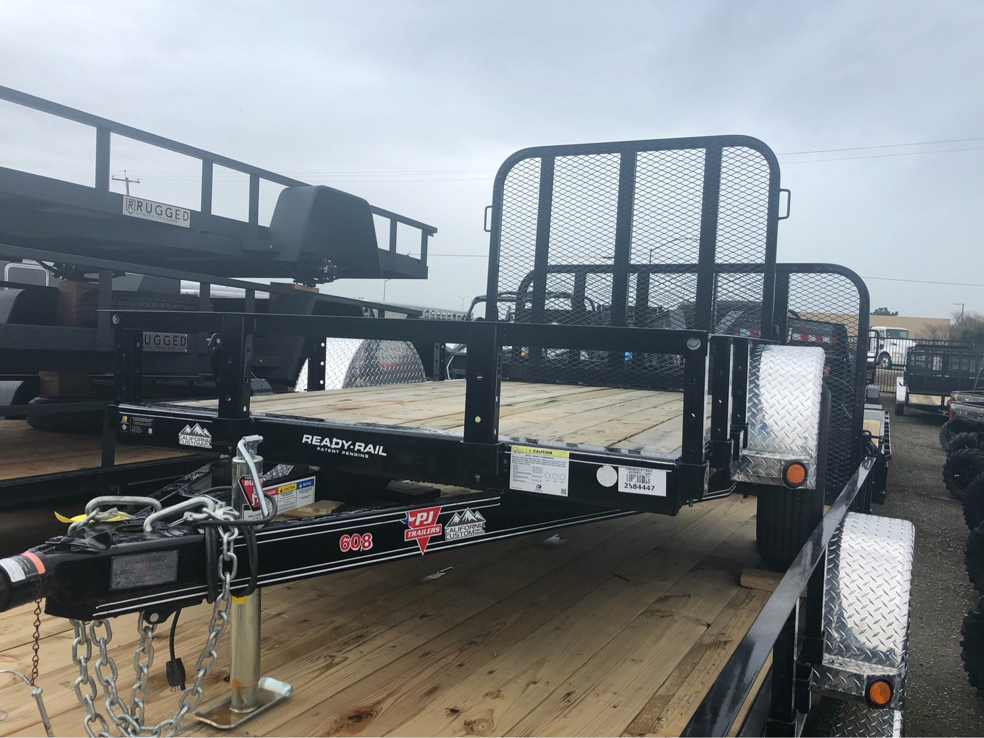 "2019 PJ Trailers 8' X 60"" SA UTILITY TRAILER in Elk Grove, California - Photo 3"