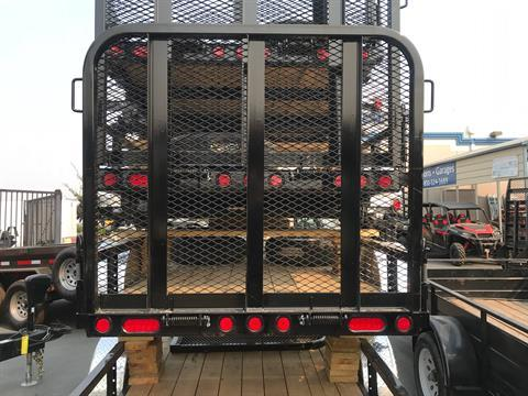 "2019 PJ Trailers 8' X 60"" SA UTILITY TRAILER in Elk Grove, California - Photo 7"