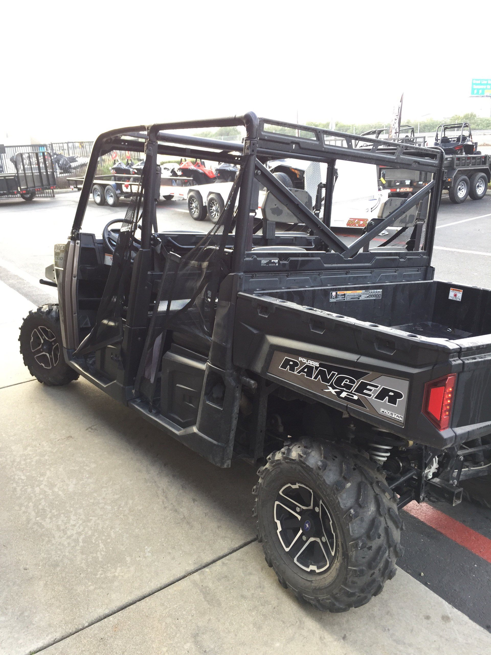 2017 Polaris 2017 RANGER CREW 1000XP 6P  in Elk Grove, California