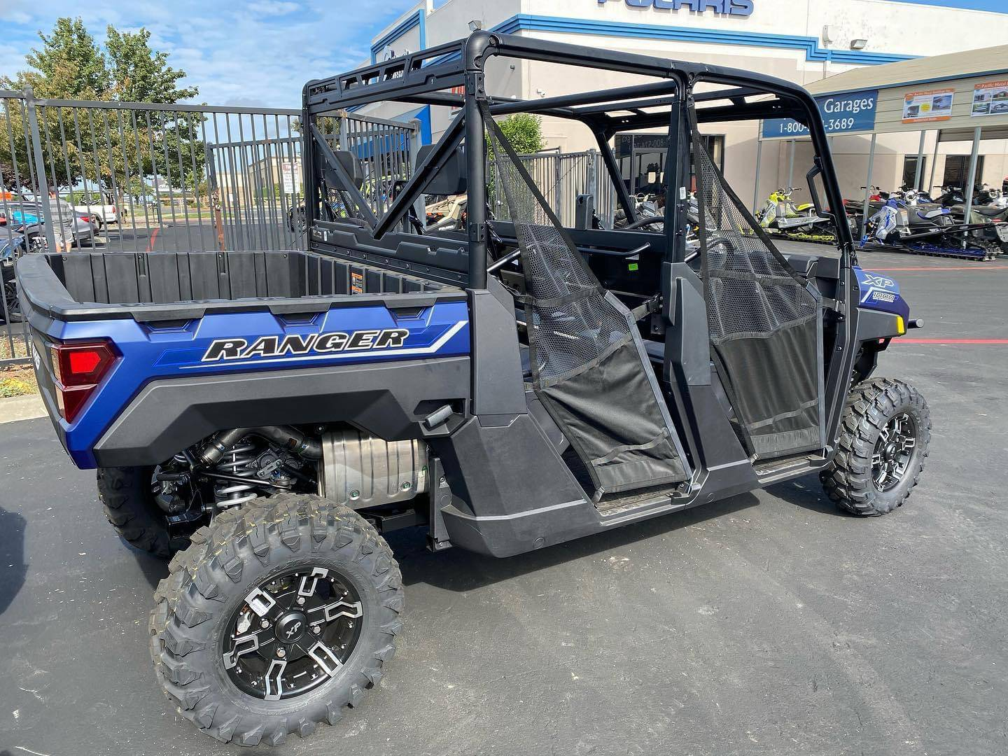 2021 Polaris Ranger Crew XP 1000 Premium in Elk Grove, California - Photo 3