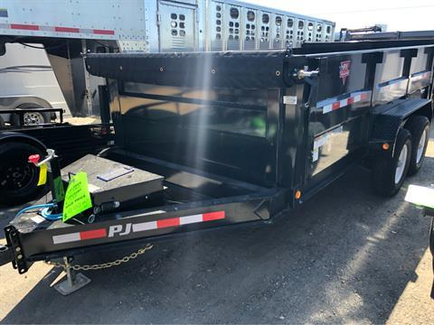"2020 PJ Trailers 14' X 83"" LOW PRO HIGH SIDE DUMP in Elk Grove, California"