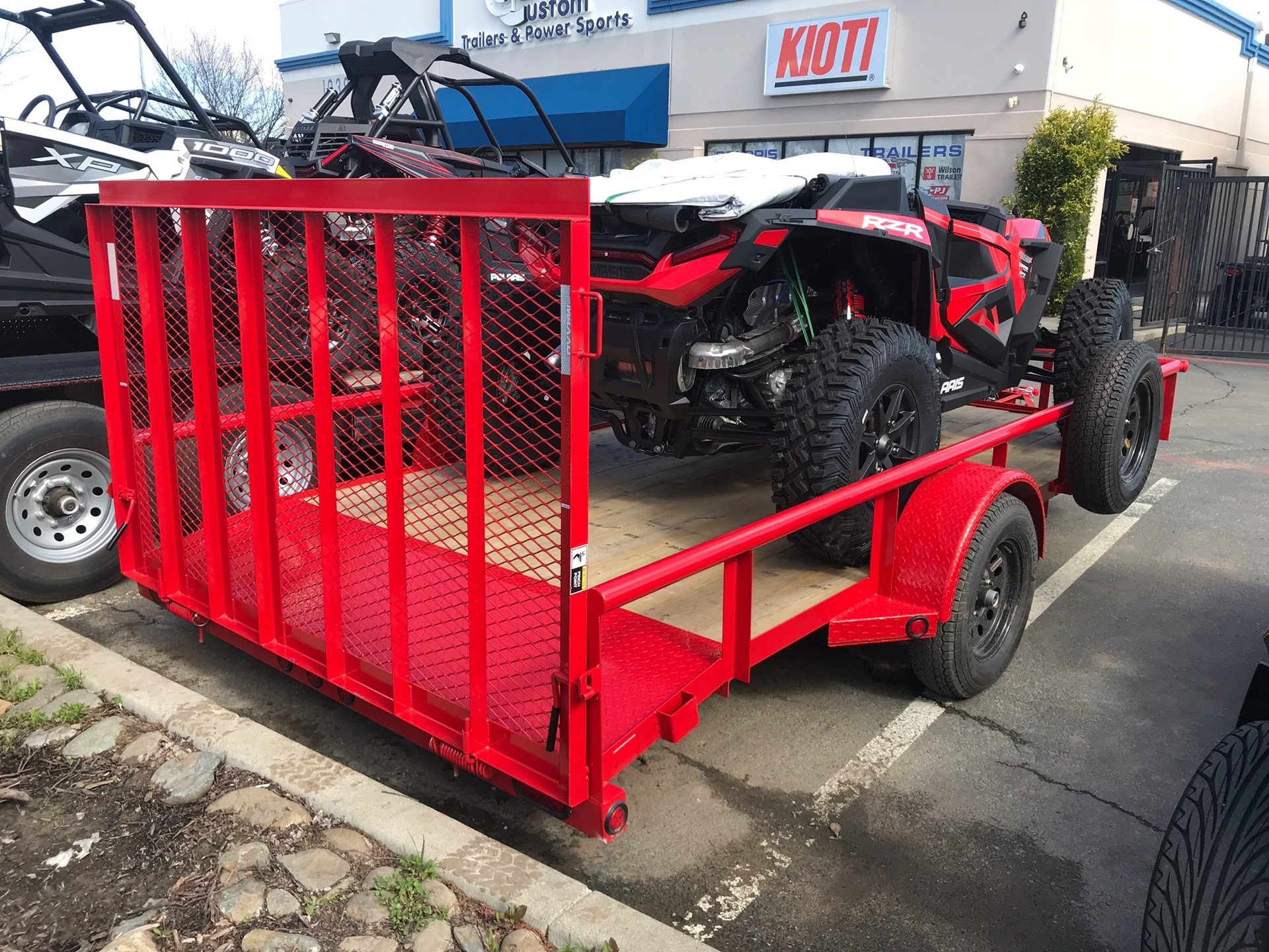 "2019 MAXXD TRAILERS 14' X 83"" SA UTILITY TRAILER in Elk Grove, California - Photo 4"