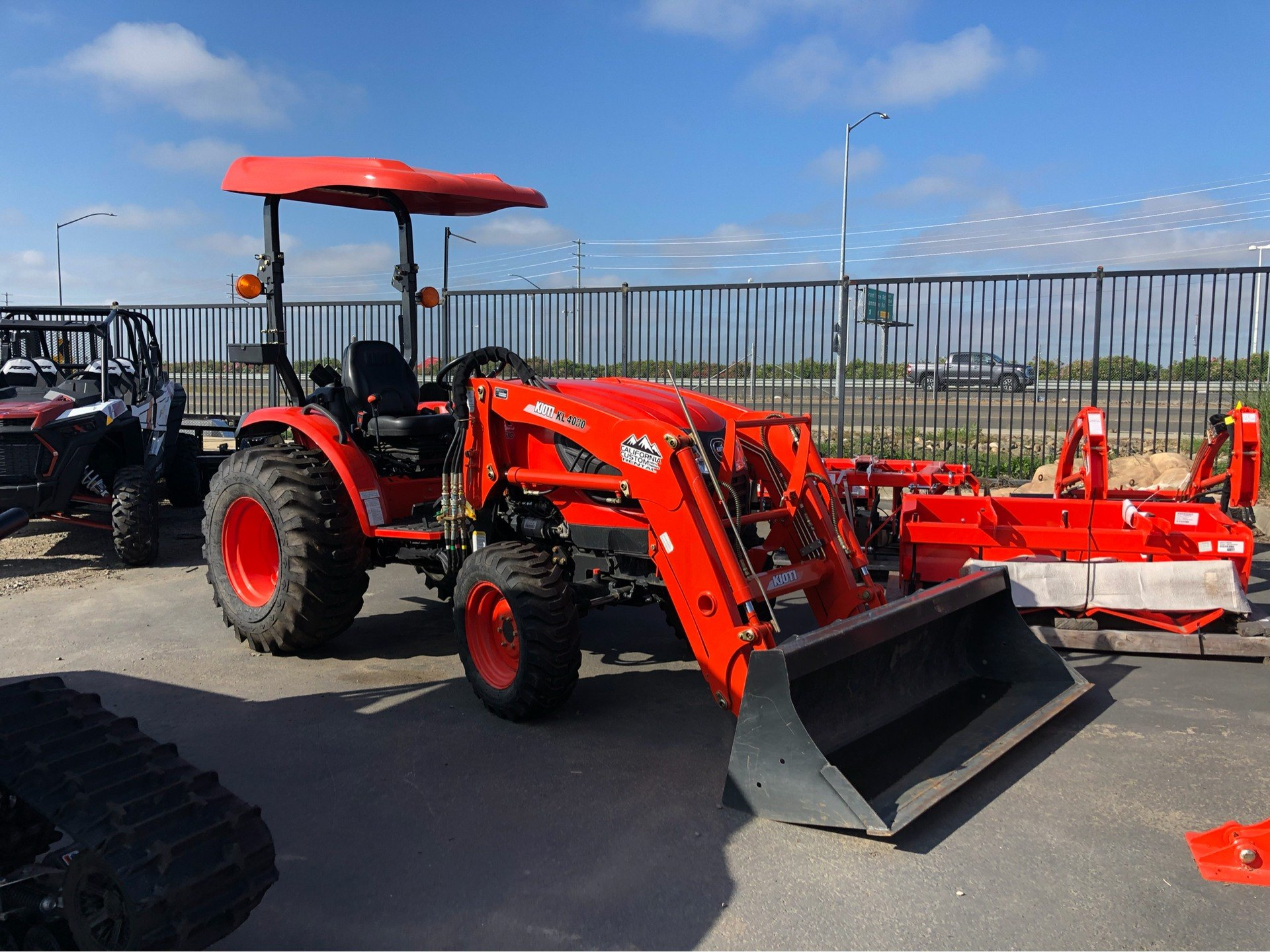 2018 KIOTI CK3510 HST W/ BACKHOE & LOADER in Elk Grove, California - Photo 1