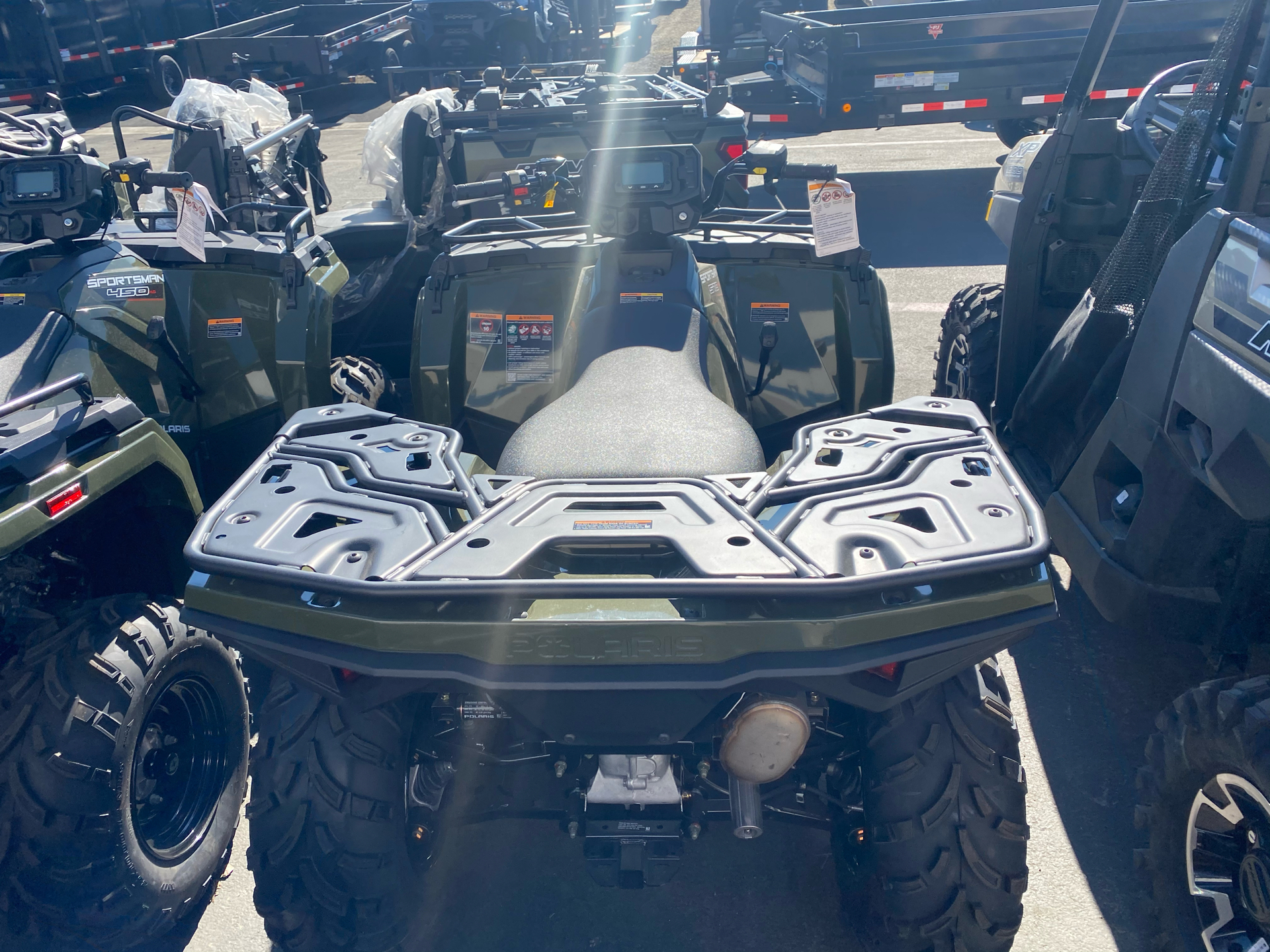 2021 Polaris Sportsman 570 EPS Utility Package in Elk Grove, California - Photo 9
