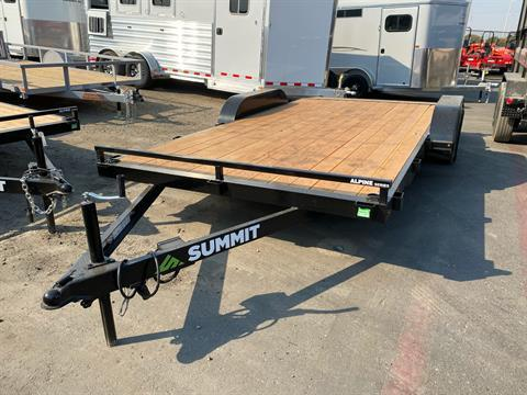 2021 SUMMIT TRAILER MFG 16' TA UTILITY TRAILER in Elk Grove, California - Photo 1