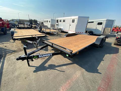 2021 SUMMIT TRAILER MFG 16' TA UTILITY TRAILER in Elk Grove, California - Photo 2
