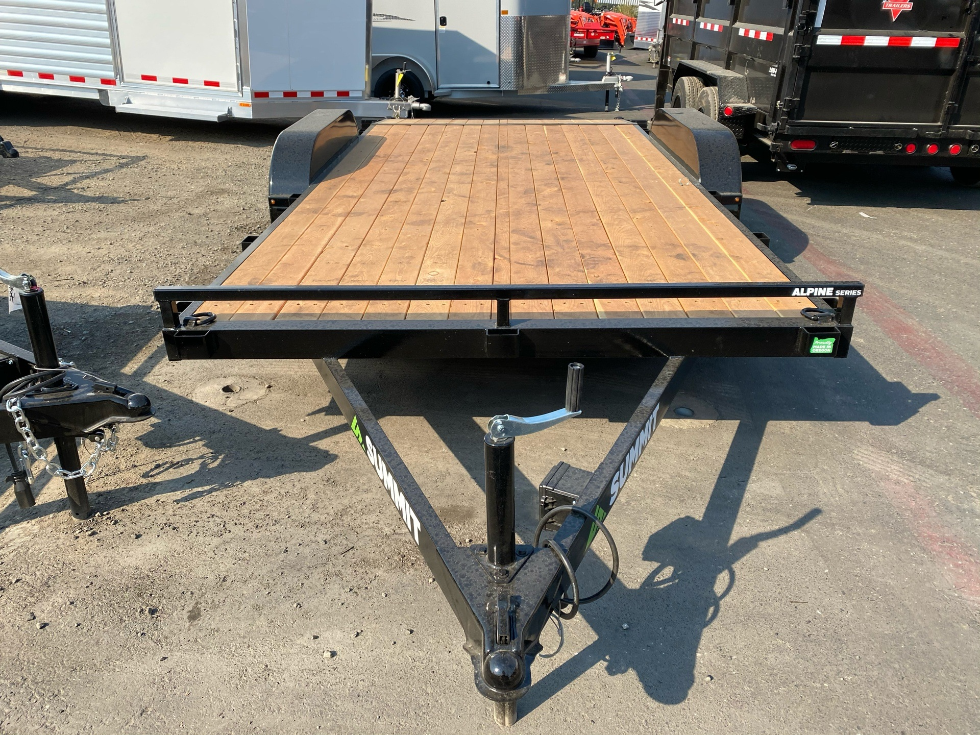 2021 SUMMIT TRAILER MFG 16' TA UTILITY TRAILER in Elk Grove, California - Photo 4