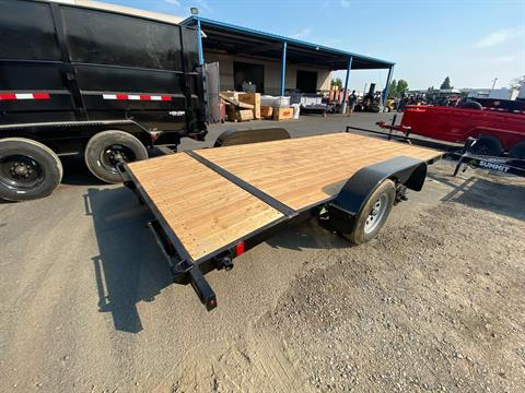 2021 SUMMIT TRAILER MFG 16' TA UTILITY TRAILER in Elk Grove, California - Photo 9