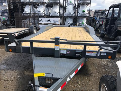 "2018 PJ Trailers 20' X 6"" CHANNEL SUPER WIDE UTILITY  in Elk Grove, California"