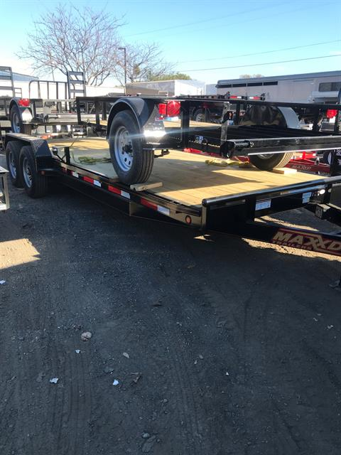 2017 MAXXD TRAILERS 20' Equipment Trailer in Elk Grove, California