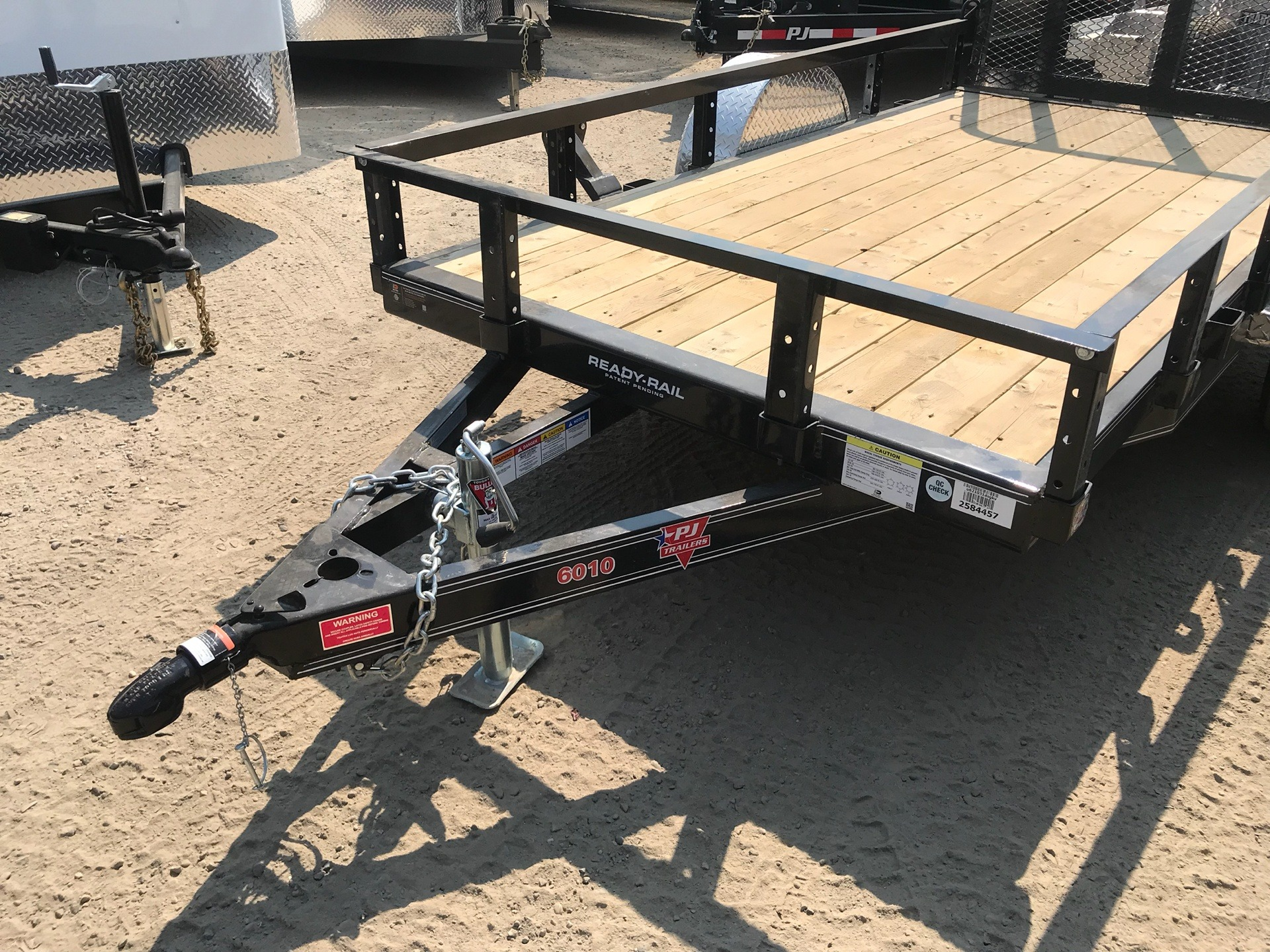 "2019 PJ Trailers 10' X 60"" SA UTILITY TRAILER in Elk Grove, California"