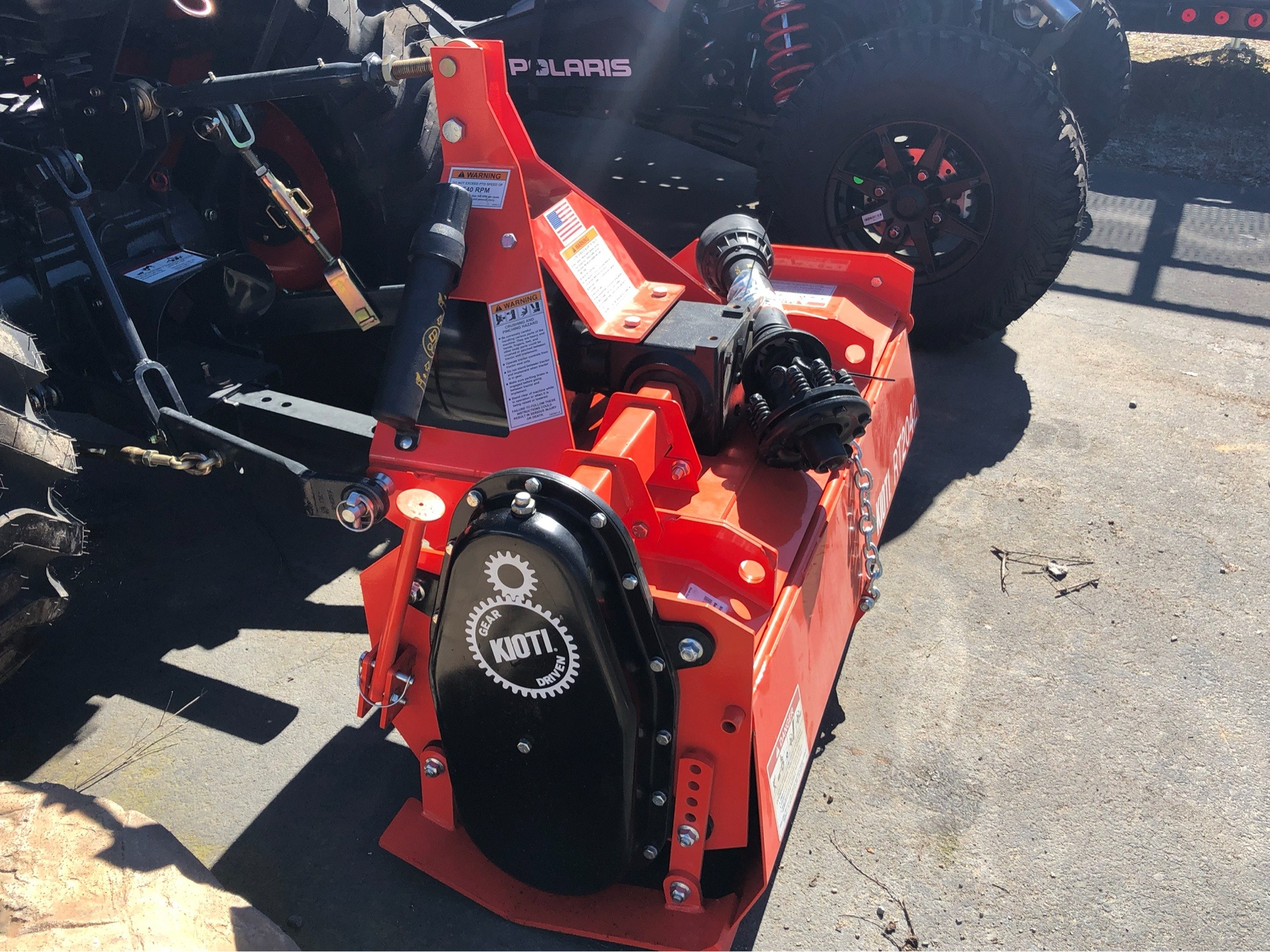 "2018 KIOTI STANDARD-DUTY 42"" ROTARY TILLER in Elk Grove, California - Photo 5"