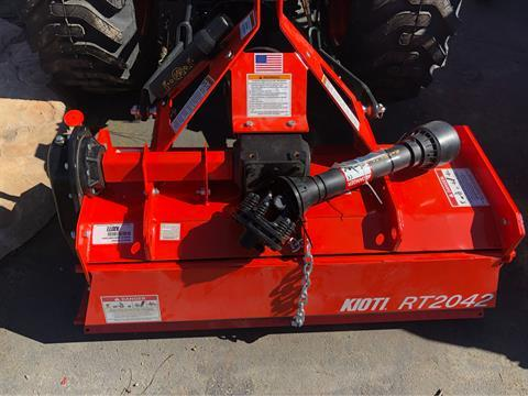 "2018 KIOTI STANDARD-DUTY 42"" ROTARY TILLER in Elk Grove, California - Photo 8"