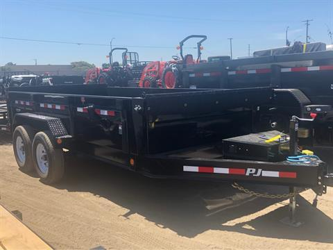 "2020 PJ Trailers 14' x 83"" LOW PRO DUMP in Elk Grove, California"
