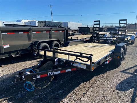 "2021 PJ Trailers 16' X 5"" CHANNEL EQUIPMENT in Elk Grove, California - Photo 1"