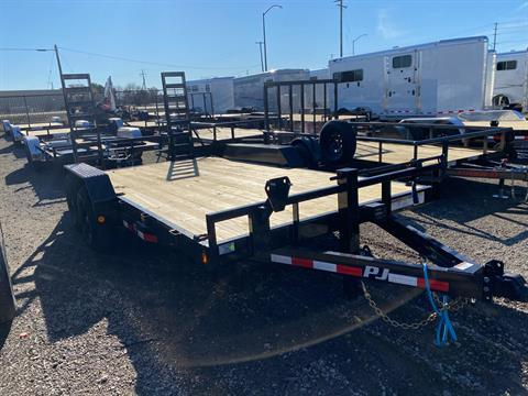 "2021 PJ Trailers 16' X 5"" CHANNEL EQUIPMENT in Elk Grove, California - Photo 6"
