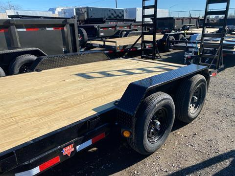 "2021 PJ Trailers 16' X 5"" CHANNEL EQUIPMENT in Elk Grove, California - Photo 7"