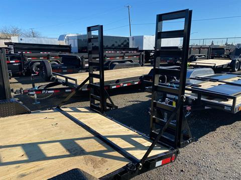 "2021 PJ Trailers 16' X 5"" CHANNEL EQUIPMENT in Elk Grove, California - Photo 9"