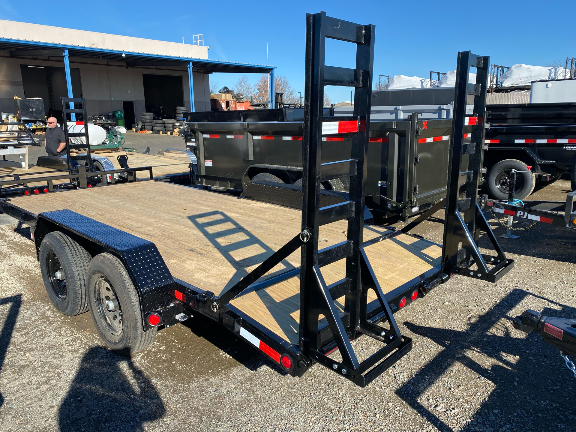 "2021 PJ Trailers 16' X 5"" CHANNEL EQUIPMENT in Elk Grove, California - Photo 10"