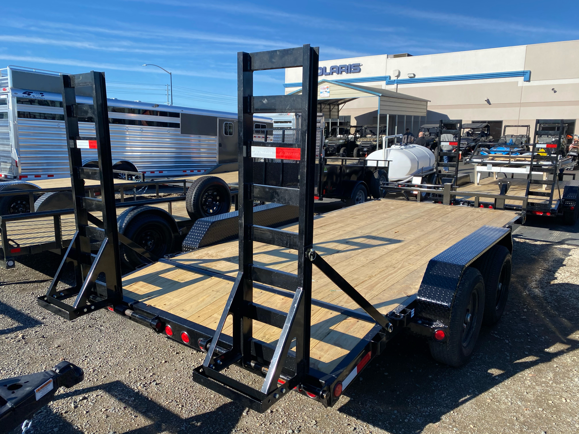 "2021 PJ Trailers 16' X 5"" CHANNEL EQUIPMENT in Elk Grove, California - Photo 12"