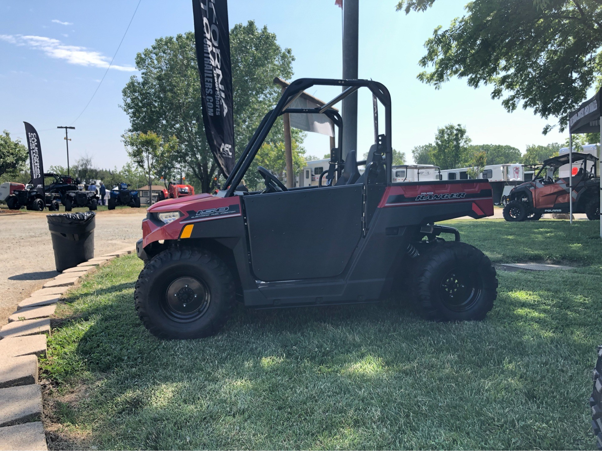 2018 Polaris Ranger 150 EFI in Elk Grove, California - Photo 1