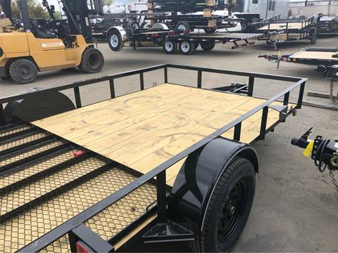 "2019 MAXXD TRAILERS 12' X 83"" SA UTILITY TRAILER in Elk Grove, California - Photo 2"