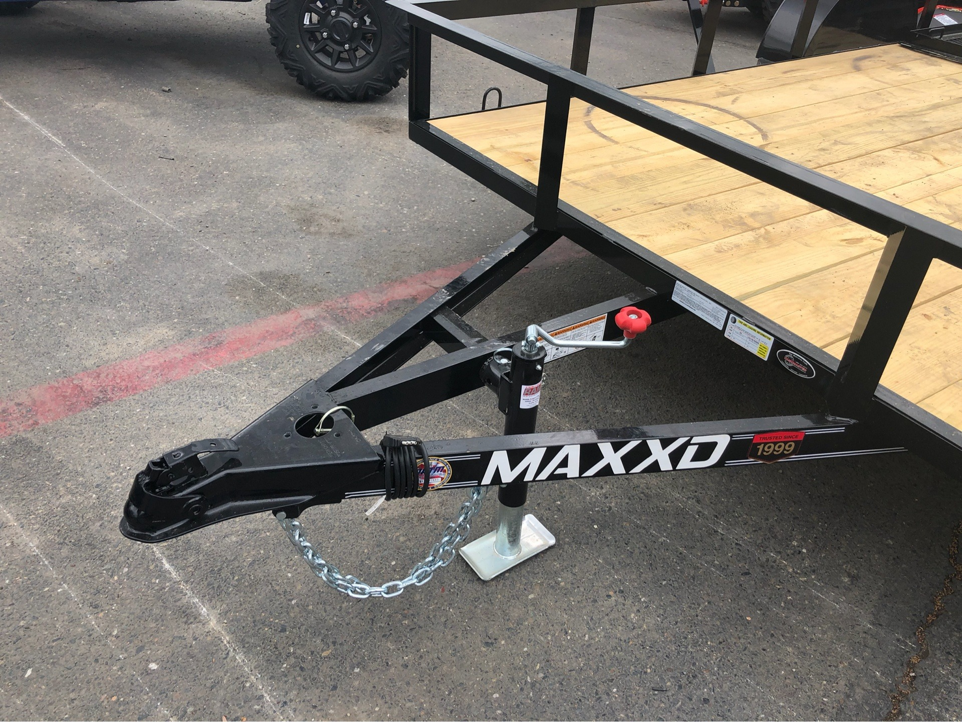 "2019 MAXXD TRAILERS 12' X 83"" SA UTILITY TRAILER in Elk Grove, California - Photo 4"