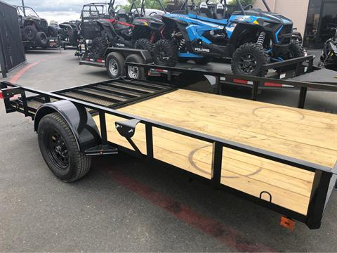 "2019 MAXXD TRAILERS 12' X 83"" SA UTILITY TRAILER in Elk Grove, California - Photo 6"