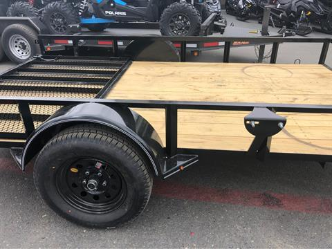 "2019 MAXXD TRAILERS 12' X 83"" SA UTILITY TRAILER in Elk Grove, California - Photo 7"