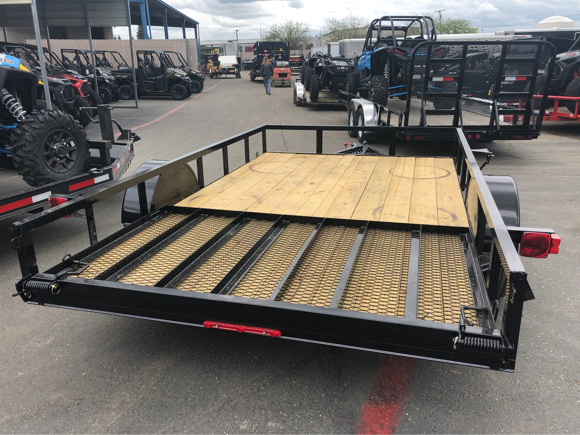 "2019 MAXXD TRAILERS 12' X 83"" SA UTILITY TRAILER in Elk Grove, California - Photo 9"