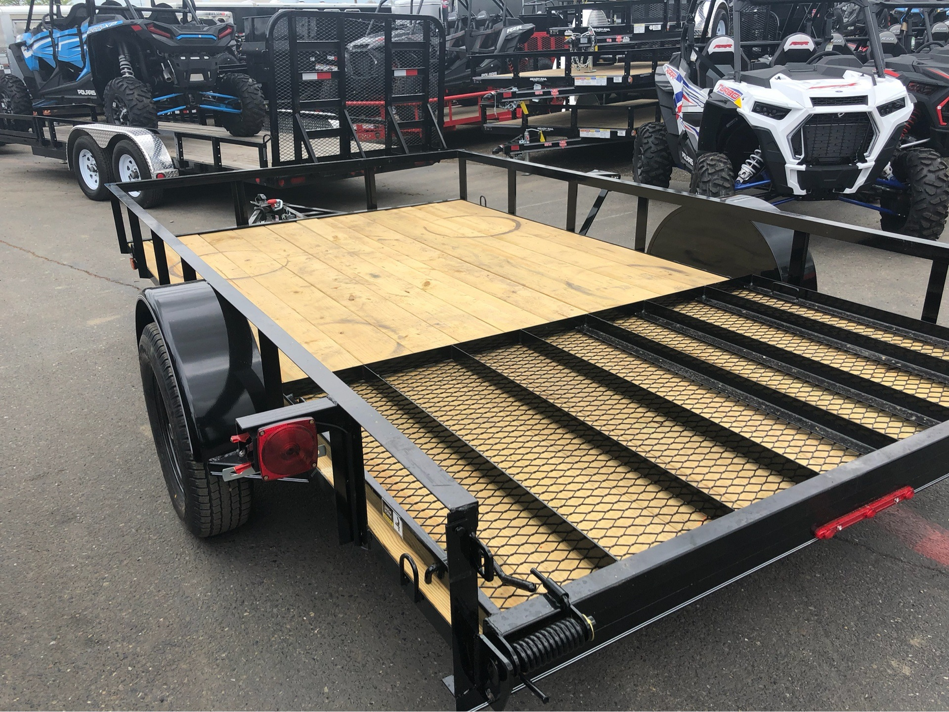 "2019 MAXXD TRAILERS 12' X 83"" SA UTILITY TRAILER in Elk Grove, California - Photo 10"
