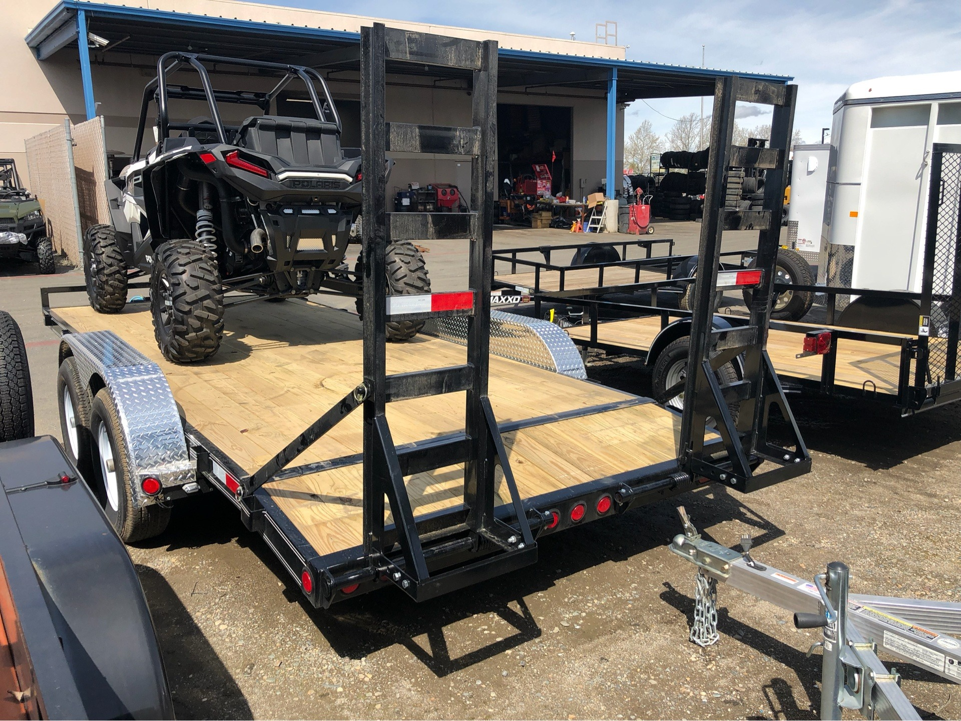 "2019 PJ Trailers 18' X 5"" CHANNEL EQUIPMENT in Elk Grove, California - Photo 5"