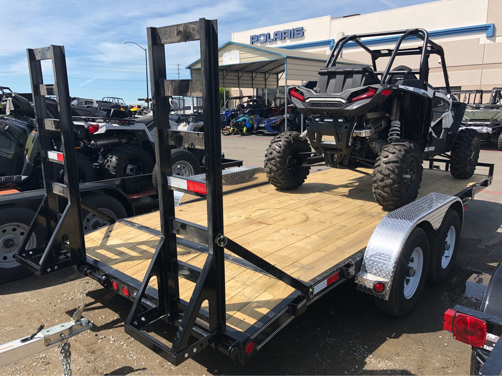 "2019 PJ Trailers 18' X 5"" CHANNEL EQUIPMENT in Elk Grove, California - Photo 7"