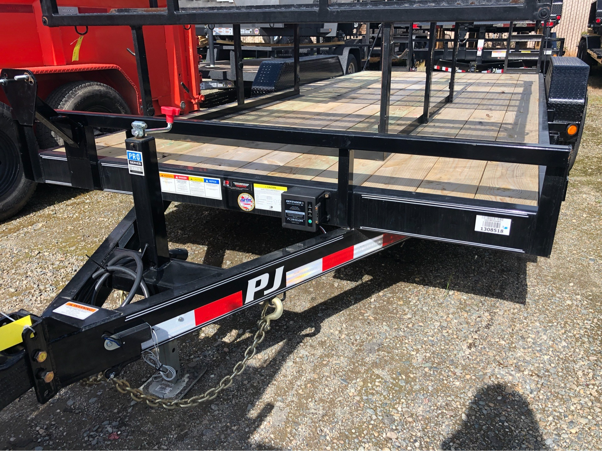 "2019 PJ Trailers 18' X 5"" CHANNEL EQUIPMENT in Elk Grove, California - Photo 1"