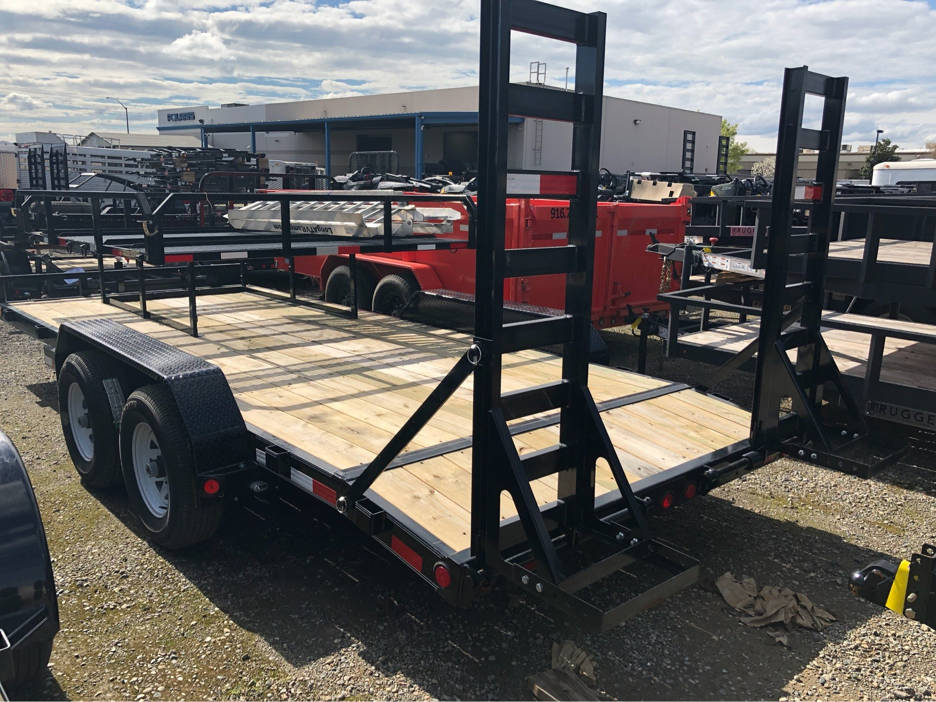 "2019 PJ Trailers 18' X 5"" CHANNEL EQUIPMENT in Elk Grove, California - Photo 4"
