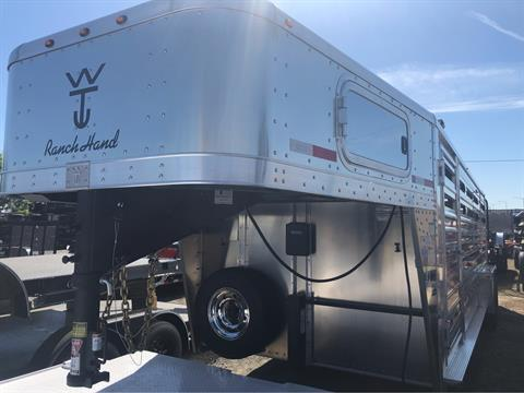 2020 Wilson Trailer - Manufacturers 20' RANCHHAND SLAT SIDE in Elk Grove, California