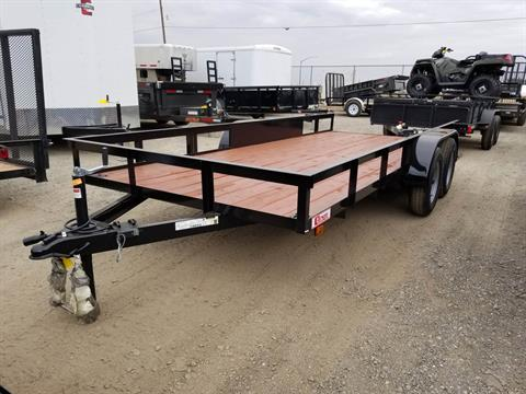 2018 Carson Trailer 16' X 6.5' UTILITY TRAILER in Elk Grove, California