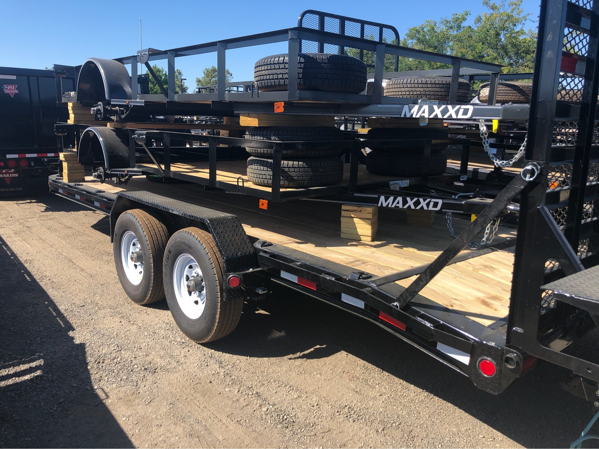 "2020 PJ Trailers 20' X 8"" PRO-BEAM EQUIPMENT TRAILER in Elk Grove, California - Photo 5"