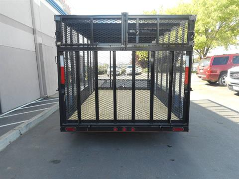 2017 Maxey Trailers Mfg. Inc. 14' TANDEM AXL in Elk Grove, California